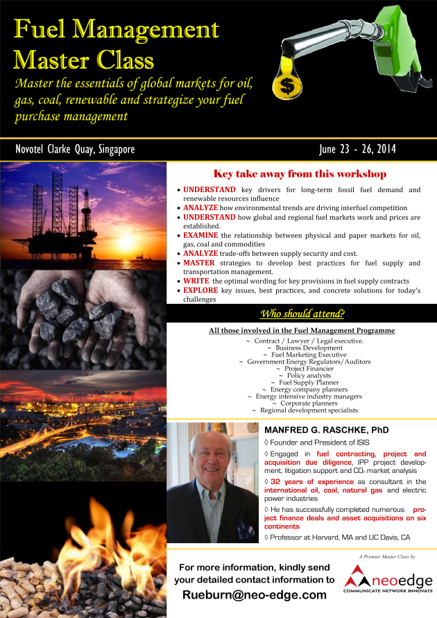 Fuel Management Master Class